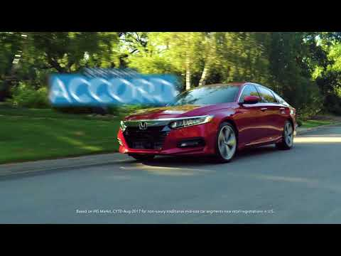 2018 Honda Accord from Your West Michigan Honda Dealers Is the Best-Selling Midsize Car in America