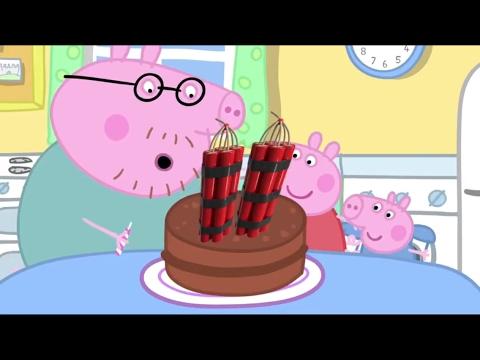 mlg peppa pig cake  rekt youtube