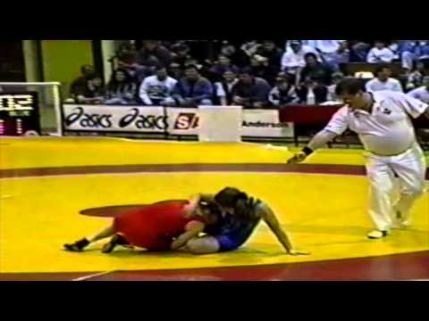 1994 Senior National Championships: 65 kg Final Karen Tally vs. Unknown