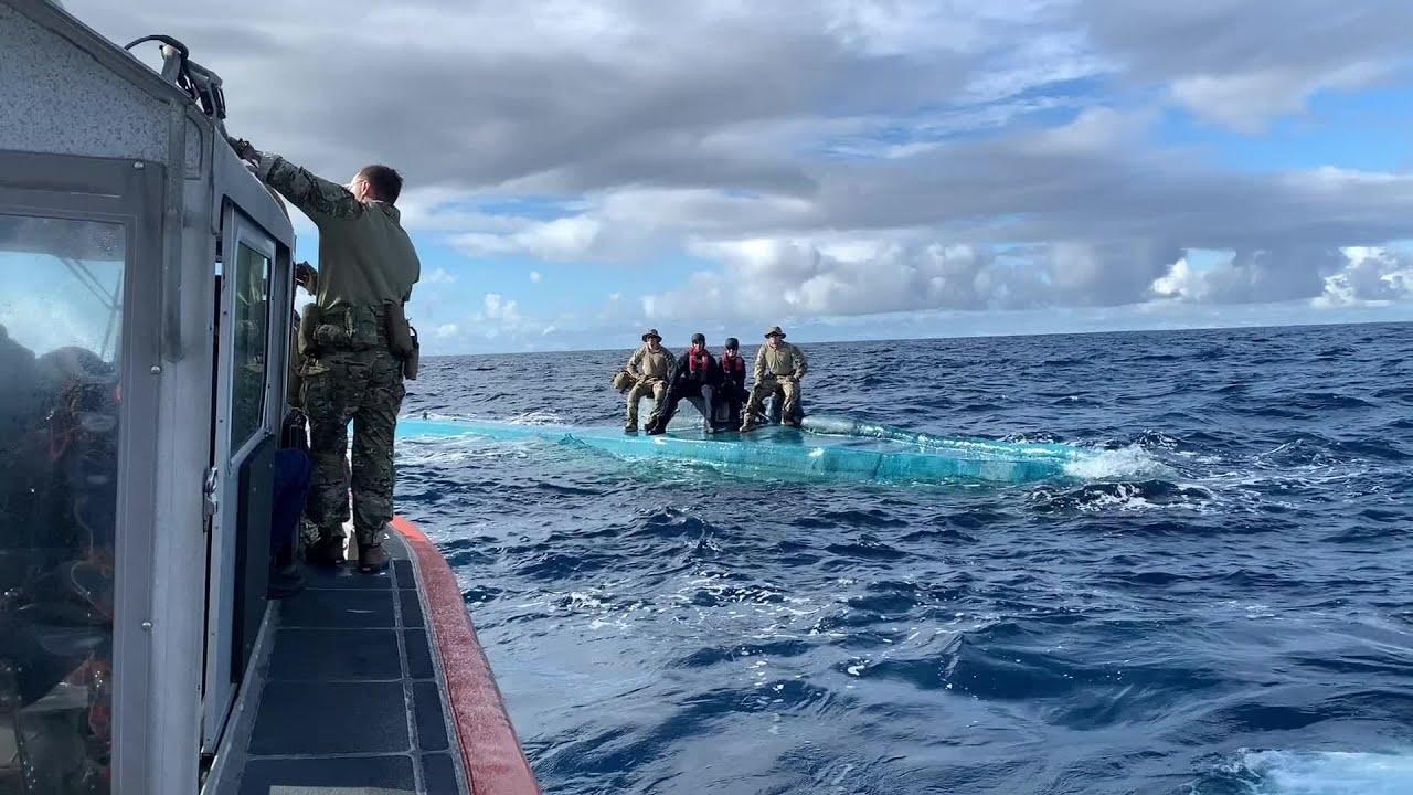 Coast Guard offloads $312M worth of cocaine seized at sea