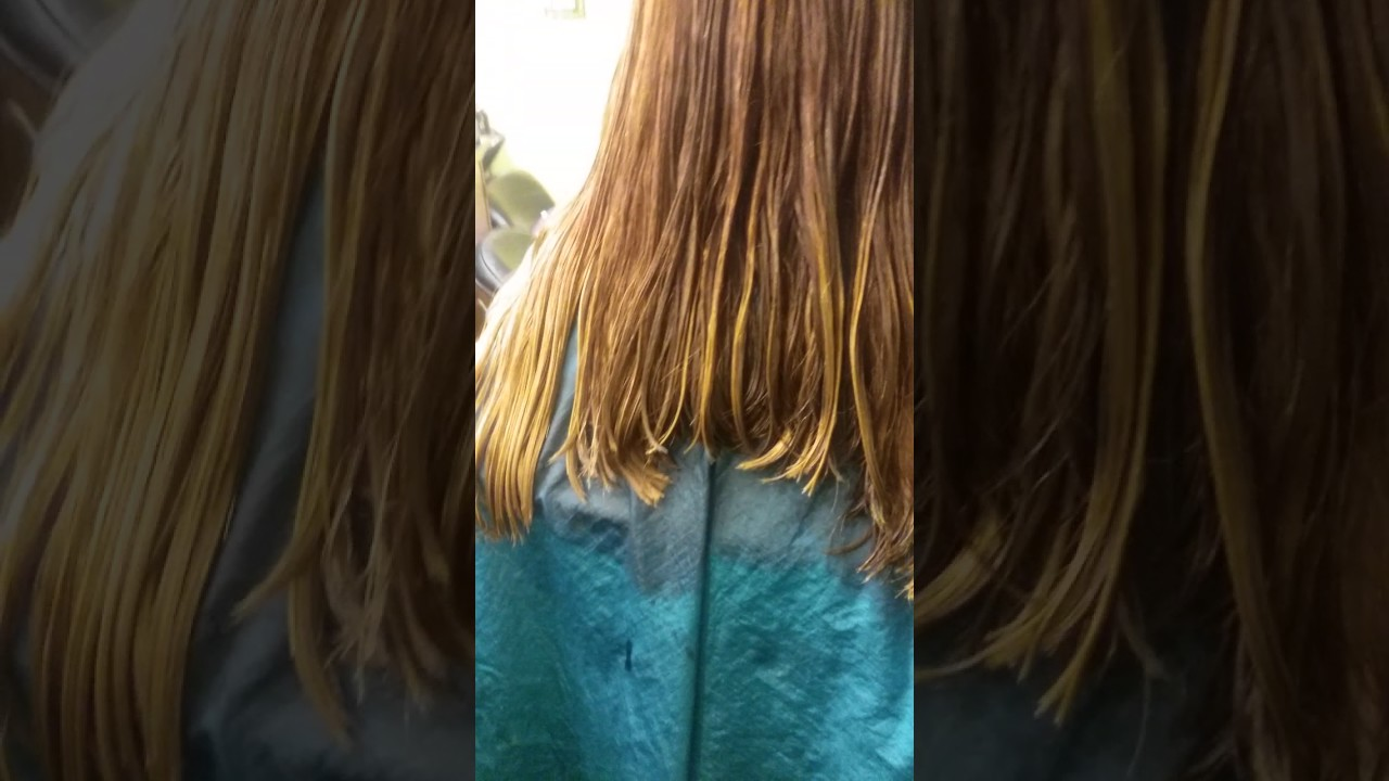 Corte de cabello largo desconectado para mujer