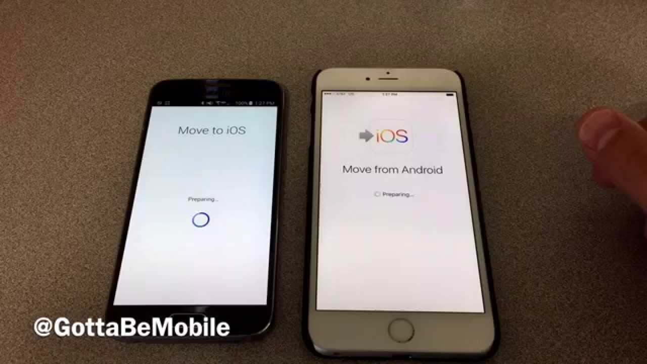 how to switch android