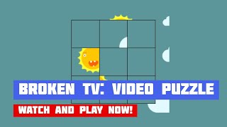 Broken TV: Video Puzzle · Game · Gameplay