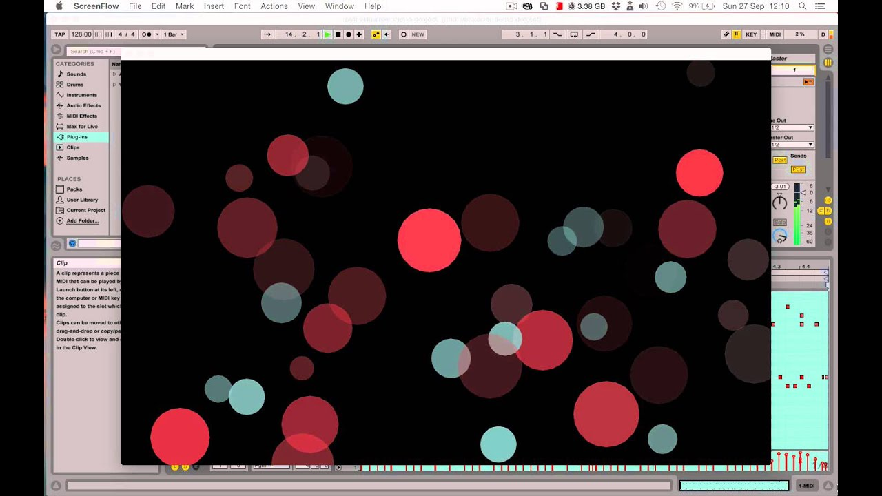 Create Your Own MIDI-Generated Realtime Visuals with openFrameworks