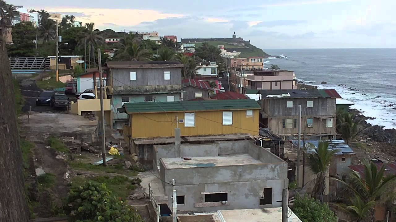 Vw San Antonio >> Barriada La Perla - San Juan - Puerto Rico - Video I - YouTube