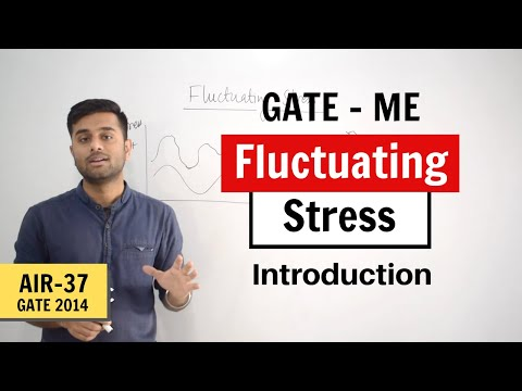 Introduction to Fluctuating Stress (Machine Design) - GATE M