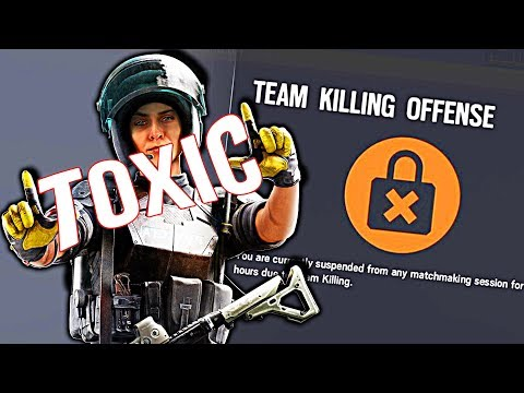 THE MOST TOXIC PLAYERS ON | Rainbow Six Siege | FUNNY MOMENTS