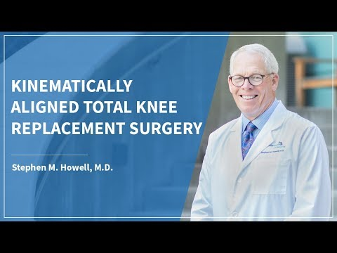 Kinematically Aligned Total Knee Replacement: Surgery by Stephen Howell MD