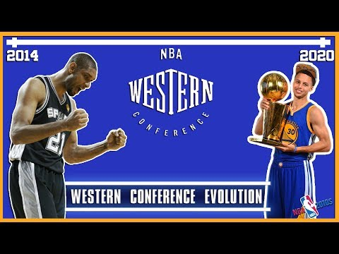 A Timeline Of The NBA Western Conference From 2014 - 2020 (NBA 2010s)