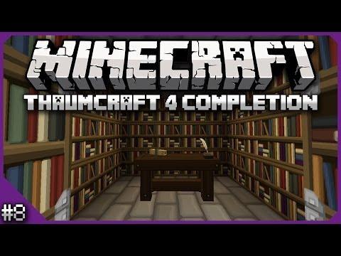 Lets Play Minecraft Thaumcraft 6 ep 7 - Making Essentia
