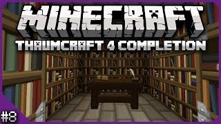 Minecraft - Thaumcraft 4 Completion - Episode 8 - Regenerating Aspects
