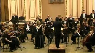 J. Brahms Violin Concerto D-dur Op. 77, 1 mvt (4of4), Oksana Hretchyn