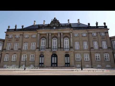 Amalienborg Copenhague , Denmark .( Ultra 4 K )