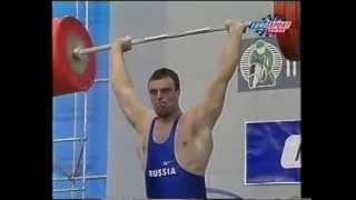 1999 World Weightlifting 105 kg Highlights