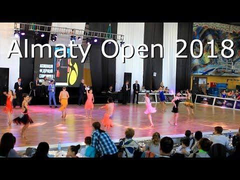 Первый турнир по бальным танцам. Almaty Open 2018. Золотая медаль