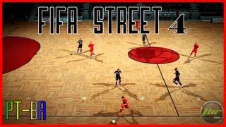 Fifa Street 4  - Gameplay Futsal - Comentado Pt-Br