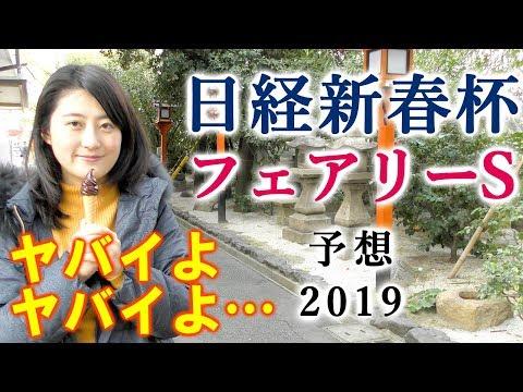 【競馬】フェアリーS 日経新春杯 2019 予想(本命候補が大外でヤバイよ…) ヨーコヨソー