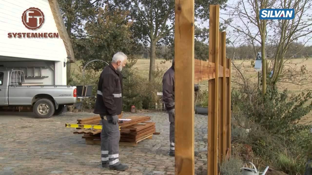 Alvorlig FT Systemhegn fra Frøslev Træ - opsætning - YouTube XL47