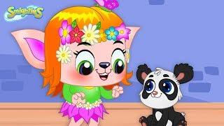 Smighties - Too Cute! Leila's Funny Crazy Cute Animals  | Funny Cartoon Video | Cartoons for Kids