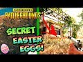 PUBG ALL SECRET EASTER EGGS REVEALED! - PlayerUnknownsBattlegrounds Hidden Secrets