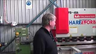 BJR RACING - PB-40A Hydraulic CNC Metalmaster Pressbrake (S970F)