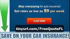 Cheap Car Insurance Florida Cheap Car Insurance