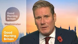 Keir Starmer Quizzed on Labour's Policies if Successful in General Election | Good Morning Britain