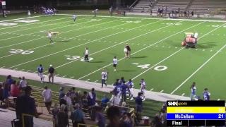 High School Football - Anderson Trojans vs. McCallum Knights - 8/30/2018