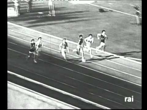 WILMA RUDOLPH  oro 100 m. Roma 1960