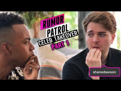 Shane Dawson EXCLUSIVE Interview! His New Series, Makeup Line & More! (Rumor Patrol: Celeb Takeover)