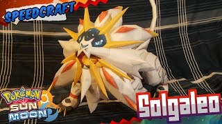 Pokemon Sun & Moon Papercraft ~ Solgaleo ~