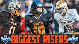 Gambar cover 2020 NFL Draft Risers | Senior Bowl Winners (NFL Draft Stock Report)