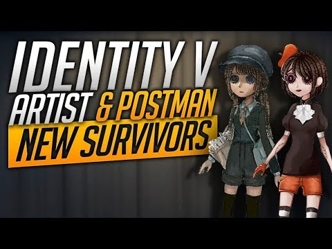 The Artist & The Postman - New Survivors - Identity V
