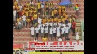 News360 - Sports Black maidens wallop Morocco to qualify to 2016 fifa U17 - 27/3/2016