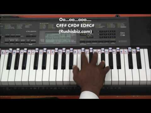 Tu Jaane Na.......aa... (Complex Notes) - Piano Tutorials