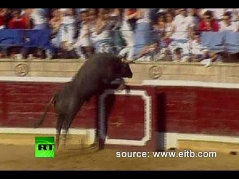 Spain Rampage: Raging bull charges into crowd injuring 40 at bullfight