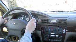 Test Drive 2001 Chrysler Sebring LX w/ Short Tour