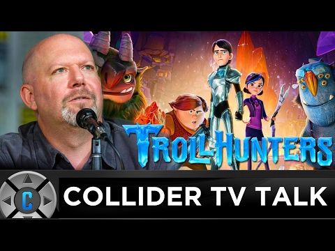 Trollhunters Executive Producer Marc Guggenheim Interview - Collider TV Talk