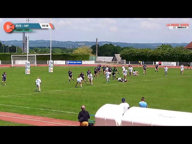 Rugby féminin :  Joué-lès-Tours - Périgueux (demi-finale championnat de France Fédérale 2)