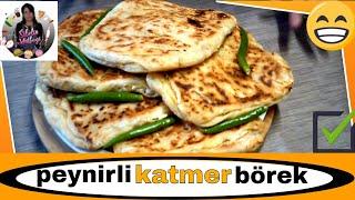 El Açması Peynirli Katmer Börek Tarifi Nasıl yapılır Sibelin mutfağı ile yemek tarifleri