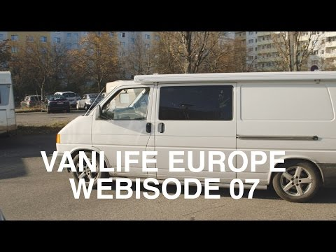 Vanlife Europe - Boondocking For Free in Berlin, Germany