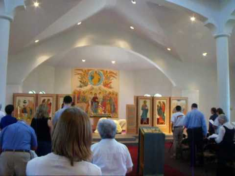 Divine Liturgy at Holy Trinity Orthodox Church 08/02/09