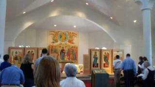 Divine Liturgy at Holy Trinity Orthodox Church 08/02/09