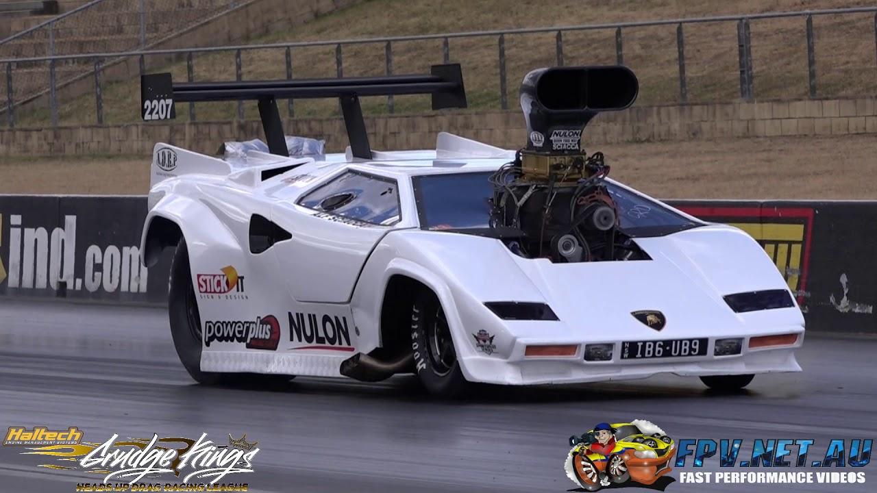 Lamborghini Countach Drag Car Asr Racing 7 02 192 Mph