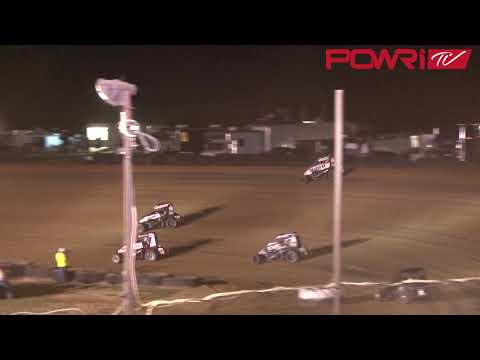 9/15/18 POWRi Lucas Oil National Midget League from Spoon River Speedway Highlights