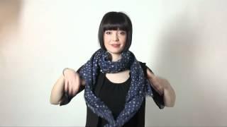 20 maneras de llevar un pañuelo