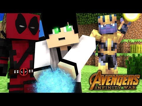 DEFEATING THANOS!   Infinity Craft   EP 3 (Minecraft Infinity War Roleplay RPG)