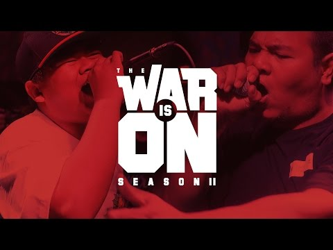 THE WAR IS ON SS.2 EP.6 - ZO9 VS TOSSAKAN | RAP IS NOW