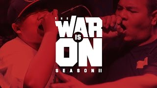 the war is on ss 2 ep 6 zo9 vs tossakan   rap is now