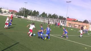 CZ4-Nagrywki Mamci Turniej 2011 w Legnicy -Kudełek w Akcji z Iskrą kochlice - IV mecz Miedź Legnica